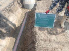 汚水管新設工事